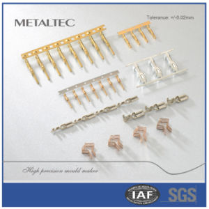 DIP Terminal Metal Stamping of Connector Parts pictures & photos