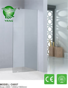 304 Stainless Steel Hardware Round Style Simple Shower Room pictures & photos