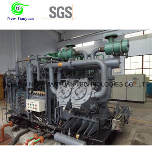 1.25m3/Min Nominal Volume Methane Gas Booster Piston Compressor pictures & photos