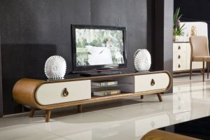 Modern Marble Top Wooden MDF TV Stand pictures & photos