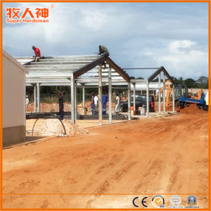 Superherdsman Steel Structure Designed Poultry Farming House pictures & photos