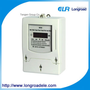 Kwh Meter Single Phase Digital, Digital Watt Hour Meter pictures & photos