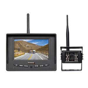 5inch Wireless Vehicle Rear View System with Waterproof Reverse Camera pictures & photos