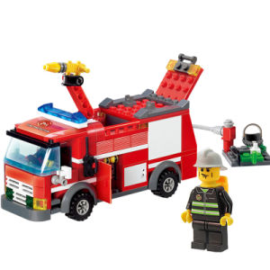 1488054-206PCS Firetruck Building Blocks Firefighter Toys Bricks City Educational DIY Bricks Toys Playmobile pictures & photos