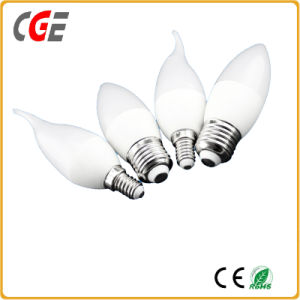 Ce, RoHS Approved E15 5W LED Candle Light Plastic Cheap LED Bulbs pictures & photos