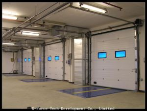Remote Control Automatic Sectional Doors with High Quality pictures & photos