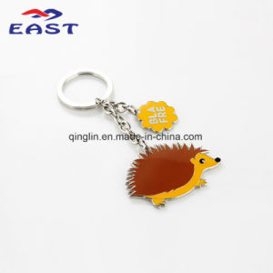 Custom Hedgehog Pendant Coloring Key Chain pictures & photos