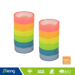 Colorful BOPP Adhesive School Stationery Tape for Students pictures & photos