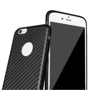 Carbon Fiber PU Hard Case for iPhone 6s Plus pictures & photos