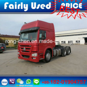 LHD/Rhd 375HP Used 6X4 Sinotruk HOWO Tractor Truck pictures & photos