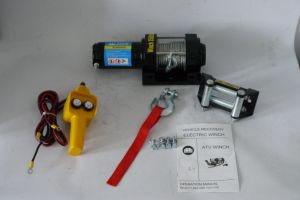 ATV 12V/24V DC off-Road Winch Electric Winch (3500lb-1) pictures & photos