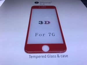 New China Red 3D Tempered Glass Screen Protector for iPhone7/iPhone7 Plus pictures & photos