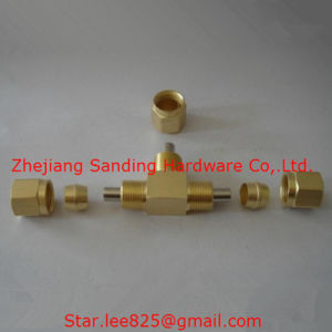 Brass Hydraulic Hose Fittings/Brass Gas Fitting pictures & photos