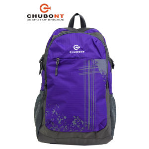 Chubont Outdoor Travel Waterproof Polyester Backpack pictures & photos