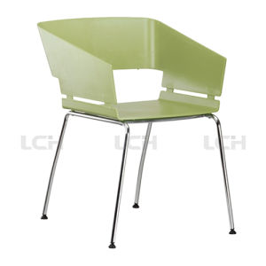 Quality-Assured Design PP Plastic Dining Chair