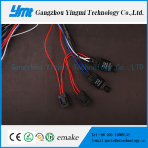Auto Car 108W Wire Harness Cable Assembly with 4 Connectors pictures & photos
