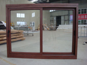 Room Double Ordinary Clear Glazing Wooden Color Window pictures & photos