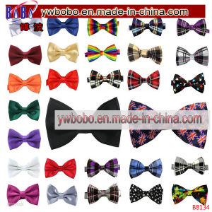 Polyester Tied Wedding Bow Ties Printed Ties Party Items (B8134) pictures & photos