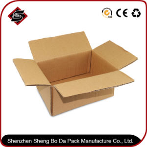 Customized Glossy Candle Paper Packaging Corrugated Carton Box pictures & photos