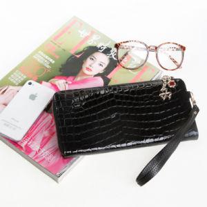 Fashion Women Wristlet Clutch Bag Gunuine Patent Leather Travel Wallet pictures & photos
