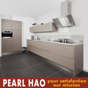 Modular MDF Carcass Matte Lacquer Kitchen Cabinet pictures & photos