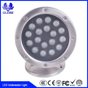 DMX512 RGB/Single Color High Brightness 12W IP68 Waterproof LED Underwater Light pictures & photos