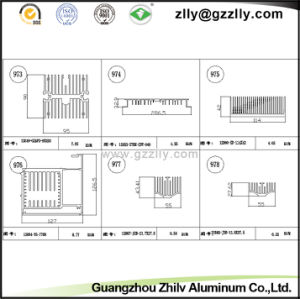 4000 Series Building Material Aluminum Heat Sink for Machinery pictures & photos