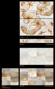 6D Inkjet 300X600mm Interior Wall Tile Porcelain Tile for Home Decoration (6317) pictures & photos