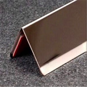 304 Tile Trims Tile Accessory Type Gold Decorative Metal Stainless Steel Trim pictures & photos