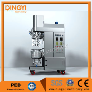 Cream Ointment Lotion Hair Color Laboratory Vacuum Emulsifying Mixer Homogenizer (ZRJ-10-D) pictures & photos