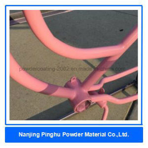 Pretty Pink Bicycle Frame Powder Coating pictures & photos