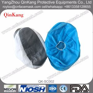 Disposable Nonwoven PP/PE/CPE Waterproof Anti-Skid Shoe Cover pictures & photos