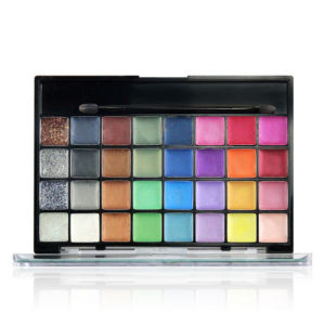 32 Colors Eye Shadow Gel with Mirror & Brush Eyeshadow Palette Matte Shimmer Es0314 pictures & photos