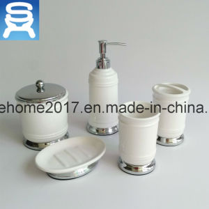 Ceramic Soap Dispenser Bathroom Accessory, Porcelain Bathroom Sets, Ceramic Bathroom Set pictures & photos