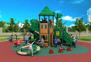 2017 New High-Quality Outdoor Playground Equipment Slide (HD17-006A) pictures & photos