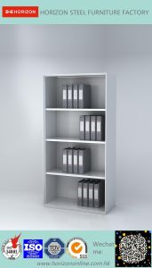Steel High Storage Cabinet Office Furniture with Open Shelves for F4 Foolscap/File Cabinet pictures & photos