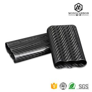 Make Your Own Unfinished Plain or Twill Carbon Fiber China Wooden Cigarette or Cigar Case Wholesale pictures & photos