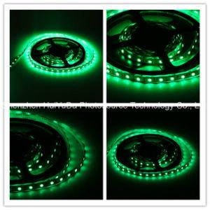 High Brightness Green Color IP20 SMD5050 Chip 60LEDs 14.4W DC12V LED Strip pictures & photos