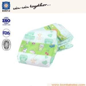 China Manufacturer Disposable Magic Tape Clothlike Baby Diaper pictures & photos