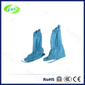 ESD Cleanroom Safety Work Shoe Cover pictures & photos