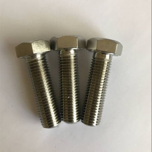 DIN933 Inconel 601 2.4851 N06601 Hex Head Cap Screw pictures & photos