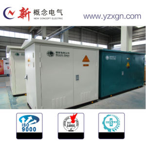 Outdoor High Voltage Substation Box Type Environmental Friendly Energy Saving pictures & photos