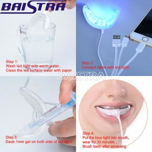 Dental LED Teeth Whitening Kit with Gel pictures & photos