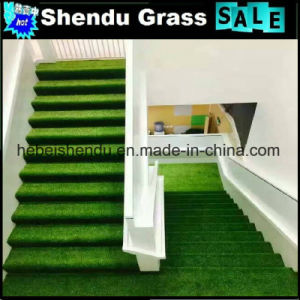 20mm and 25mm Low Height Artificial Turf with 14700tuft for Stairs pictures & photos