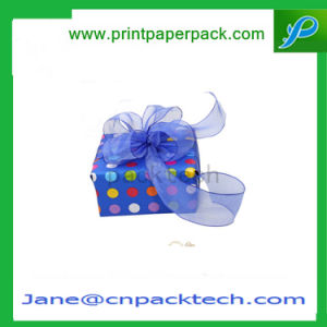 Custom Ribbon Cardboard Colorful Handmade Offset Printing Paper Gift Box for Gift Packaging pictures & photos