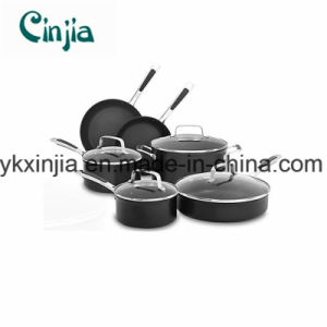 Kitchenware Carbon Steel Nonstick 10-PCS Set with Lid pictures & photos