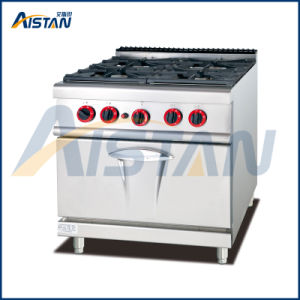 Gh987b Gas 4 Burners with Electric Oven pictures & photos