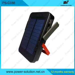5V Solar Panel Portable Power Bank with Reading Light pictures & photos