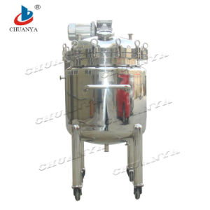 China Stainless Steel Mobile Storage Tank pictures & photos