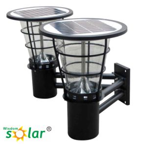 New Arrival Low Price Waterproof Outdoor Garden Solar Wall Light, Solar LED Wall Lighting, Wall Mounted Decorative Lighting pictures & photos